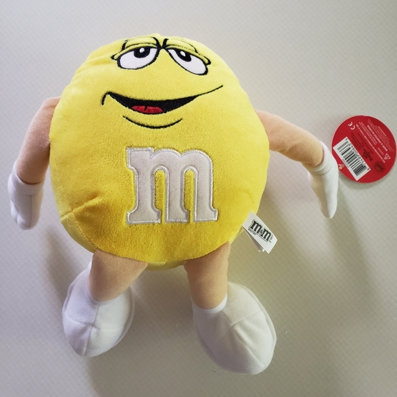 NWT Yellow Collectible M&M Plush